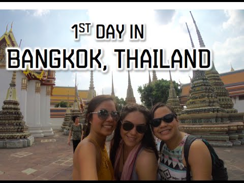 1st Day in Bangkok, Thailand- January 13, 2016 | Kimmyonaquest Vlogs