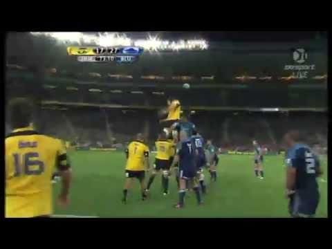 Blues v Hurricanes Super Rugby 2011 Highlights Rd.5