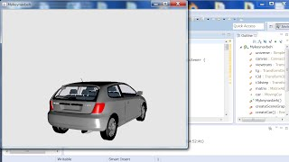 Download How to Put a Downloaded Free .3ds Car Model into Java 3D and Manipulate It_1 (with Source Code) 3Gp Mp4
