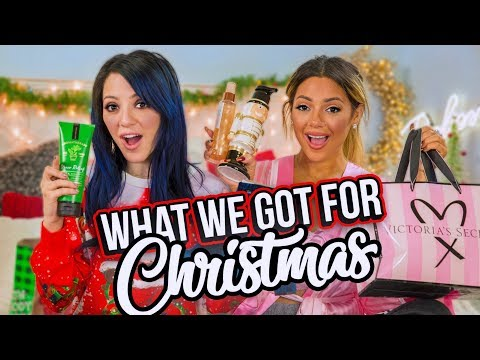 What We Got for Christmas 2017! Niki and Gabi