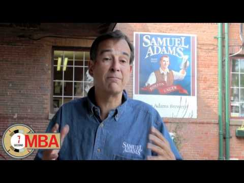 30 Second MBA - Jim Koch,  Founder of Samuel Adams