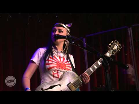 """Hiatus Kaiyote performing """"By Fire"""" Live at KCRW's Apogee Sessions"""
