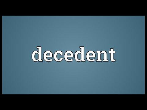 Header of decedent
