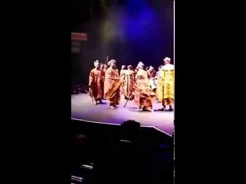 Pinyin Culture represents Cameroon Culture in the First ever Miss Cameroon SA .