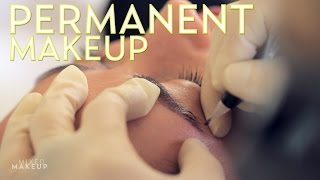 Permanent Eyebrows with Tattoo Makeup | The SASS with Susan and Sharzad