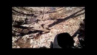 Three Brothers Retreat - ATV Roll Over Rolled Four Wheeling through steep West Virginia Forest.