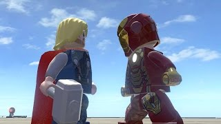IRON MAN VS THOR (Battle) - LEGO Marvel Super heroes