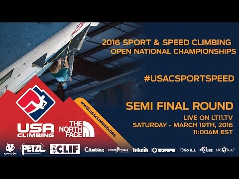 Sport National Championships • Semifinals • 3/19/16 • LIVE 11AM EDT