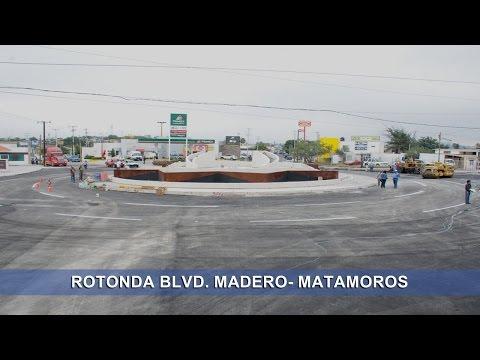 Pavimentación en Rotonda Matamoros- Blvd. Madero | Monclova, Coahuila