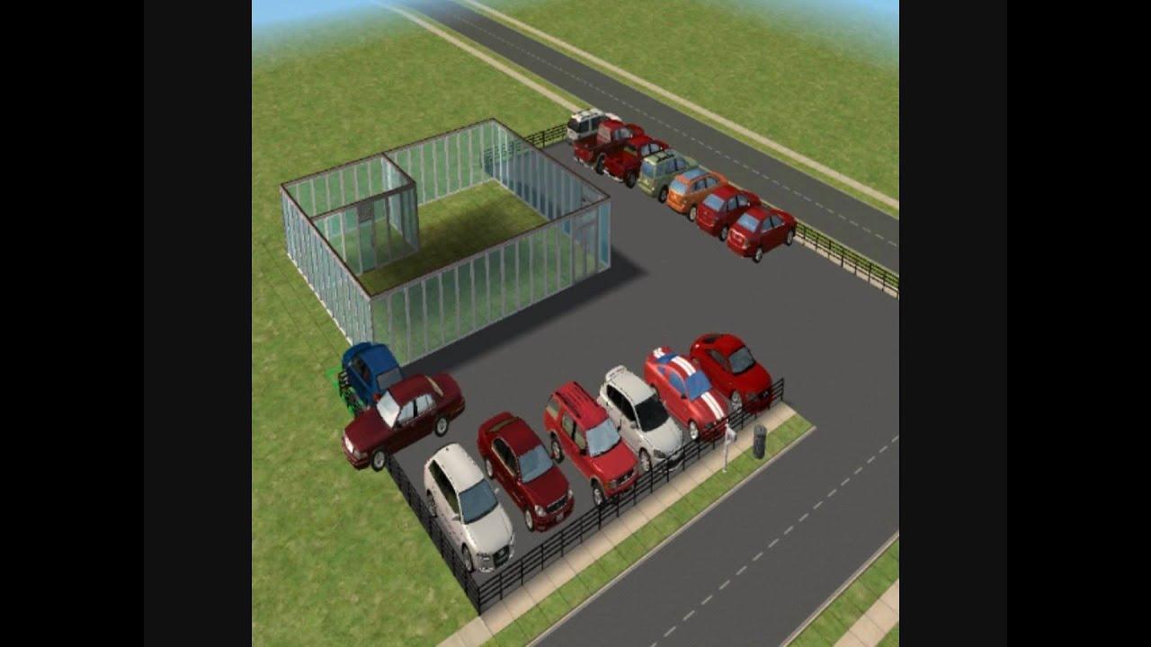 Sims  Custom Cars
