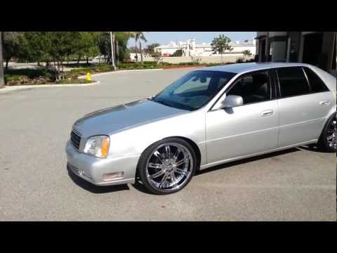 my 2003 cadillac deville on 22 inch dvinci wheels how to. Black Bedroom Furniture Sets. Home Design Ideas