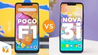 Pocophone Poco F1 vs Huawei Nova 3i Comparison Review