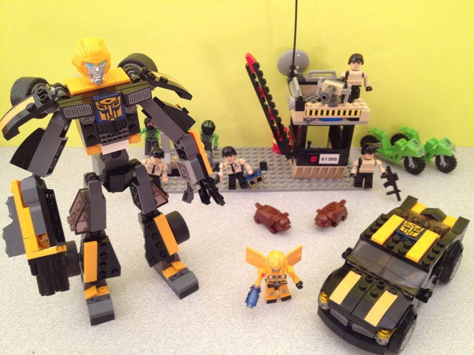 KRE-O STEALTH BUMBLEBEE - TRANSFORMERS BUILD SET TOY ...