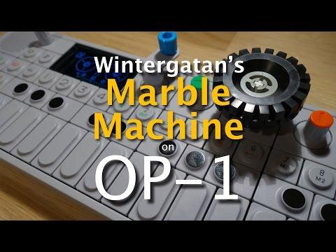 Wintergatan Marble Machine - live on Teenage Engineering OP-1