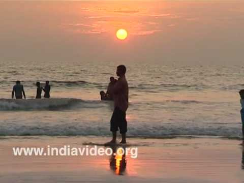 Evening at Kerala Beaches