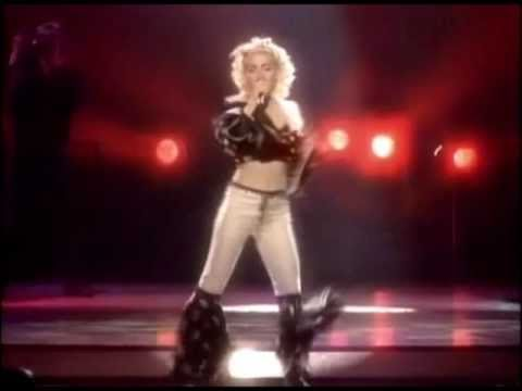 Madonna - Holiday [Blonde Ambition Tour] Music Videos
