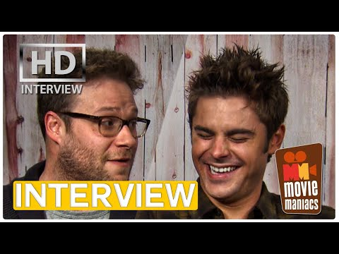 Bad Neighbors | Zac Efron & Seth Rogen Exclusive Interview