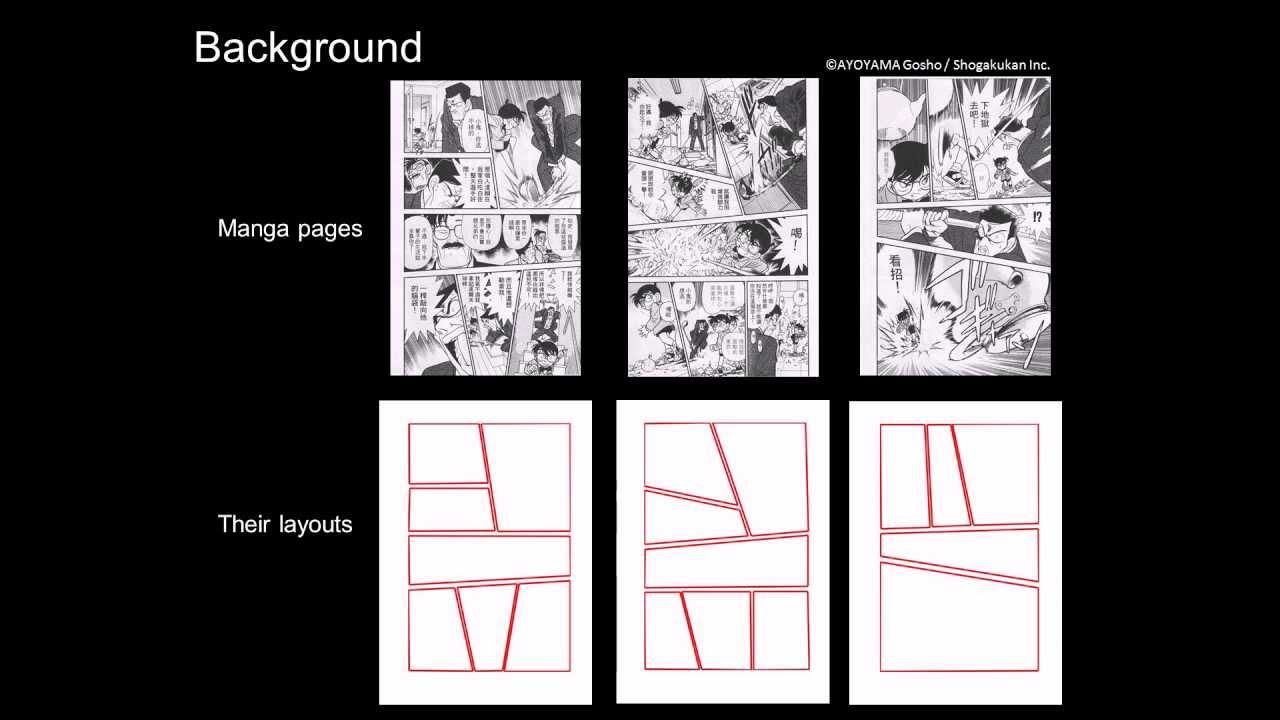Automatic Stylistic Manga Layout Youtube