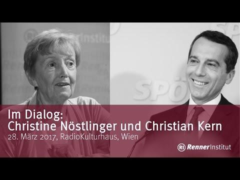 Im Dialog: Christine Nöstlinger und Christian Kern