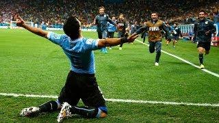Mondial 2014 | Uruguay 2-1 Angleterre