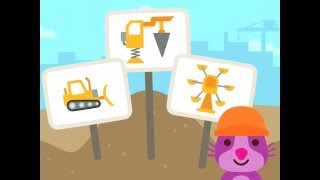 Sago Mini Trucks and Diggers - app demo for kids