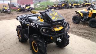 Yellow Black XTP 1000 Can-am Mud Build at Pines!