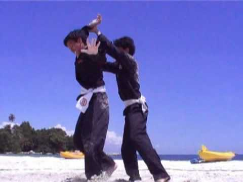 Asian beach games silat incamp training Image 1