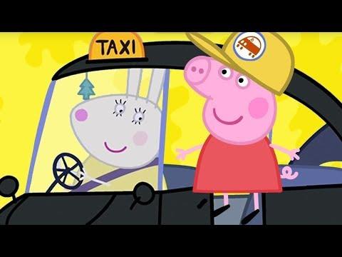 Свинка Пеппа на русском все серии подряд 💖 Такси мисс Крольчихи 💙 Мультики