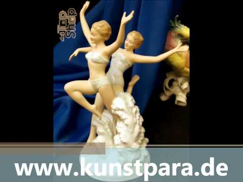 Sculpture galleries, Antique store, old and new germany porcelain and ceramics