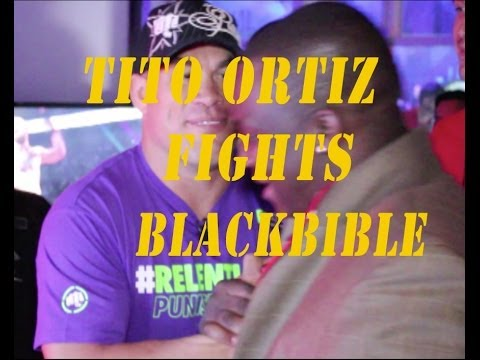 Tito Ortiz FIGHTS BlackBible In EA Sports UFC Video Game!