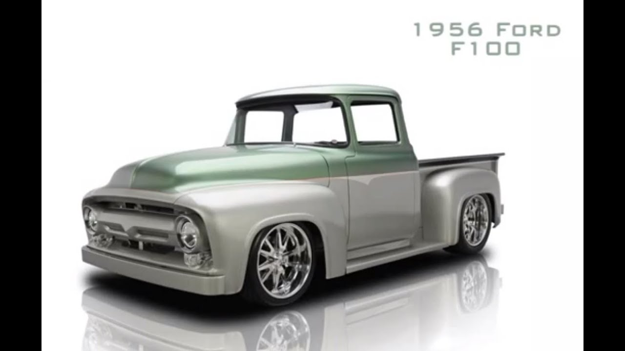 Pick Up Ford 1956 F100 - YouTube