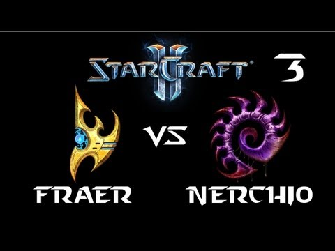 StarCraft 2 - FRAER [P] vs Nerchio [Z] G3 (Commentary)