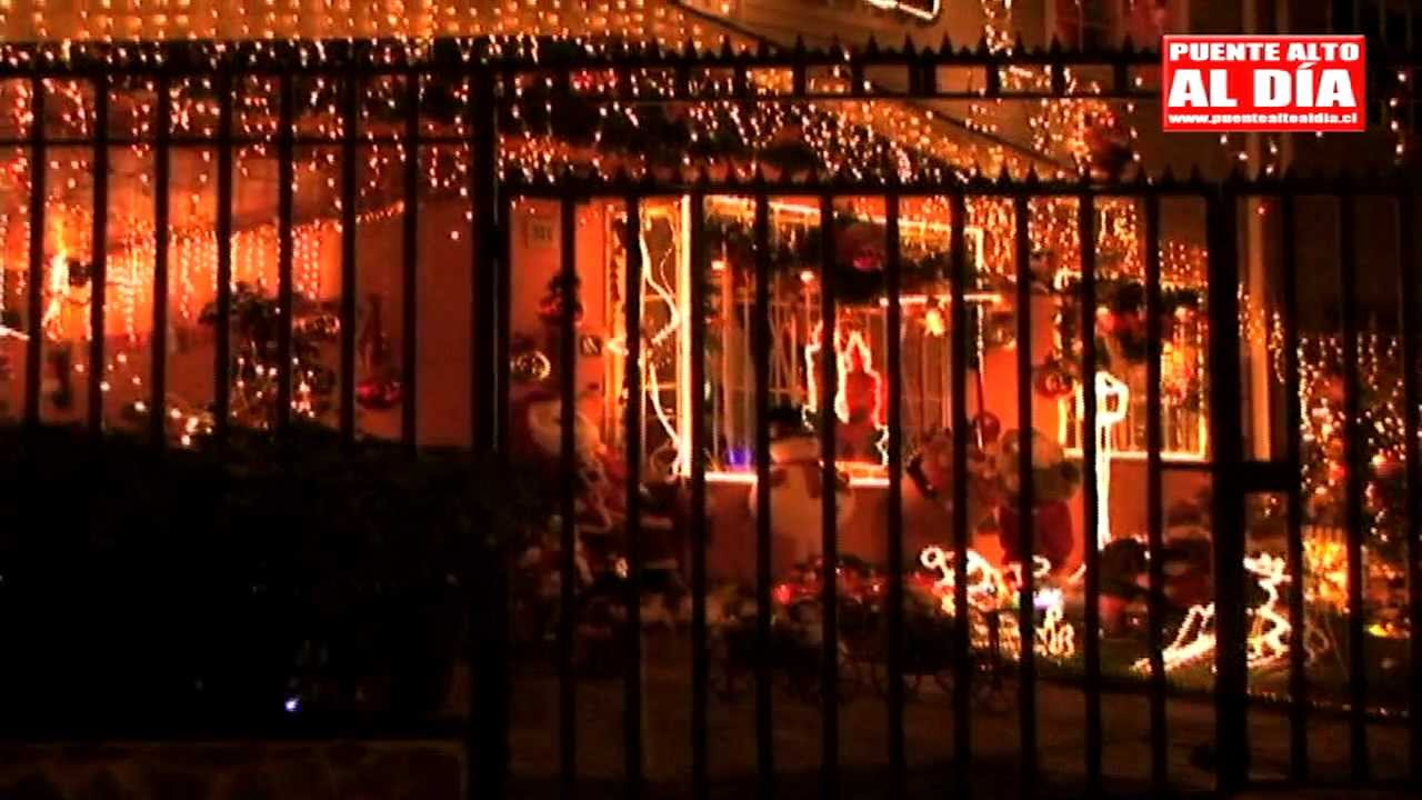 Vea una de las casas m s adornadas en esta navidad - Casas de navidad ...