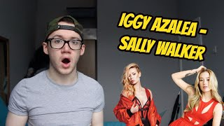 Iggy Azalea - Sally Walker (Official Music Video) REACTION