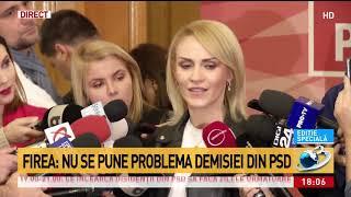 Gabriela Firea: Am demonstrat că nu funcția îl face pe om!