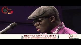 Opera Singer NINO Performing Live At The BEFFTA AWARDS 2014