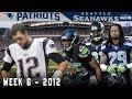The Legion of Boom is Born Against Brady! (Patriots vs. Seahawks, 2012)