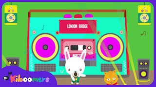 London Bridge | Baby Songs | Nursery Rhyme for Kids | Kindergarten |The Kiboomers
