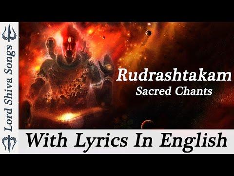 """Shiva Rudrashtakam Stotram"" Shiva Stotram Powerful || Shiva Rudrastakam With Lyrics ( Full Songs ) Photo Image Pic"