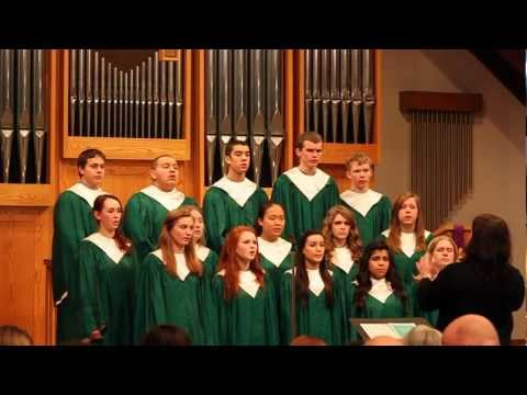 Lent Service including the Evergreen Lutheran High School Choir 3/7/2012
