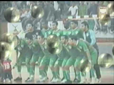 محمد الشريف حارس المنتخب الوطني الليبي للخماسيات