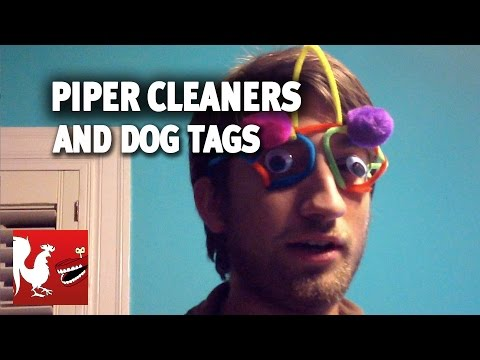 Piper Cleaners and Dog Tags - Happy Hour #15