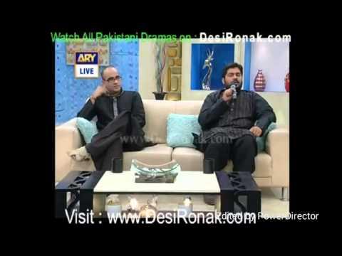 Kashif Raza Noha Bas Hussain Bas At ARY Digital