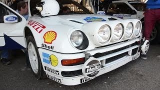 My other car's a... Ford RS200