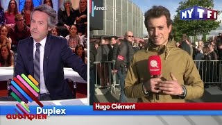 Emmanuel Macron malmené à Amiens pour sa visite aux salariés de Whirlpool - Quotidien du 26 Avril