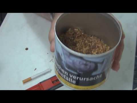 Германия.Как делать самодельные сигареты