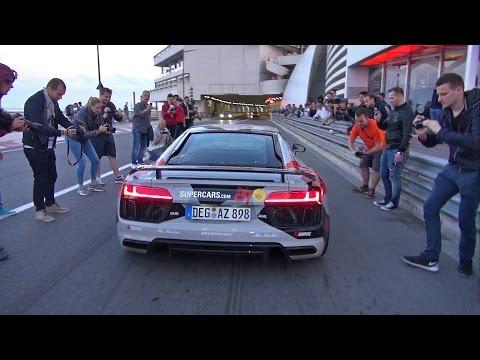Audi R8 V10 Plus w/ Akrapovic Exhaust System!