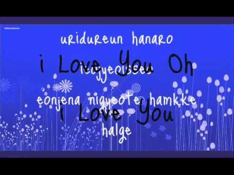 Narsha - I Love You Feat. Miryo Lyrics  My Fair Lady Ost video
