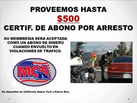 Motor club of america mca en espanol youtube for Motor club company reviews