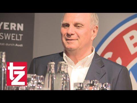Uli Hoeneß zurück in offizieller Funktion beim FC Bayern München